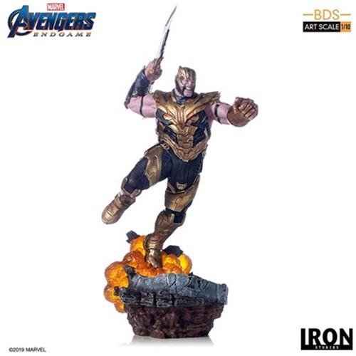 IRON STUDIOS Thanos Avengers EndGame 1/10 Artscale